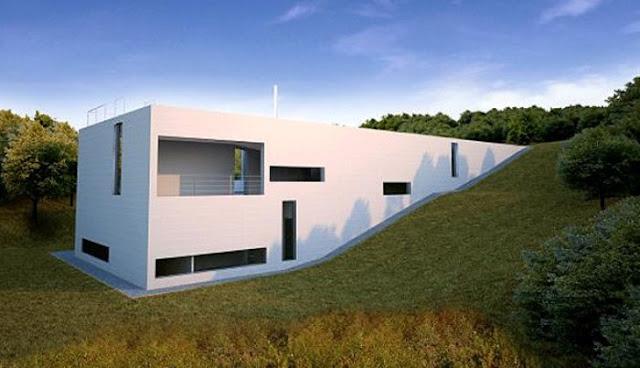 warna putih pada arsitektur