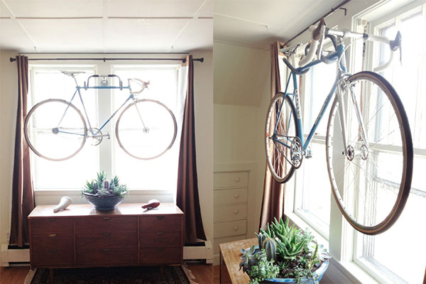 Roomations bicycle storage solutions yes it is possible to make your own wall mounted bicycle rack check out instructions posted by kyle wilson and shelterness for these awesome diy bike solutioingenieria Choice Image