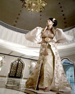 Desain Baju Pernikahan anggun