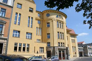 Denkmalgeschützte Halle in der Leyplaystrasse 11