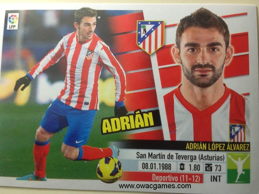 Liga ESTE 2013-14 Atl. de Madrid - 15 - Adrián