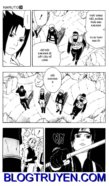 Naruto chap 307 Trang 3 - Mangak.info