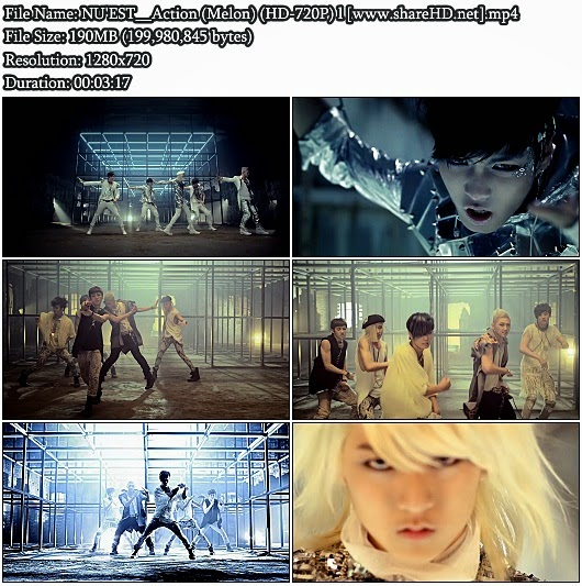 Download MV NU'EST (뉴이스트) - Action (Melon HD 720p)
