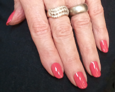 Manicured nails at A Personal Touch Nails Raleigh, NC