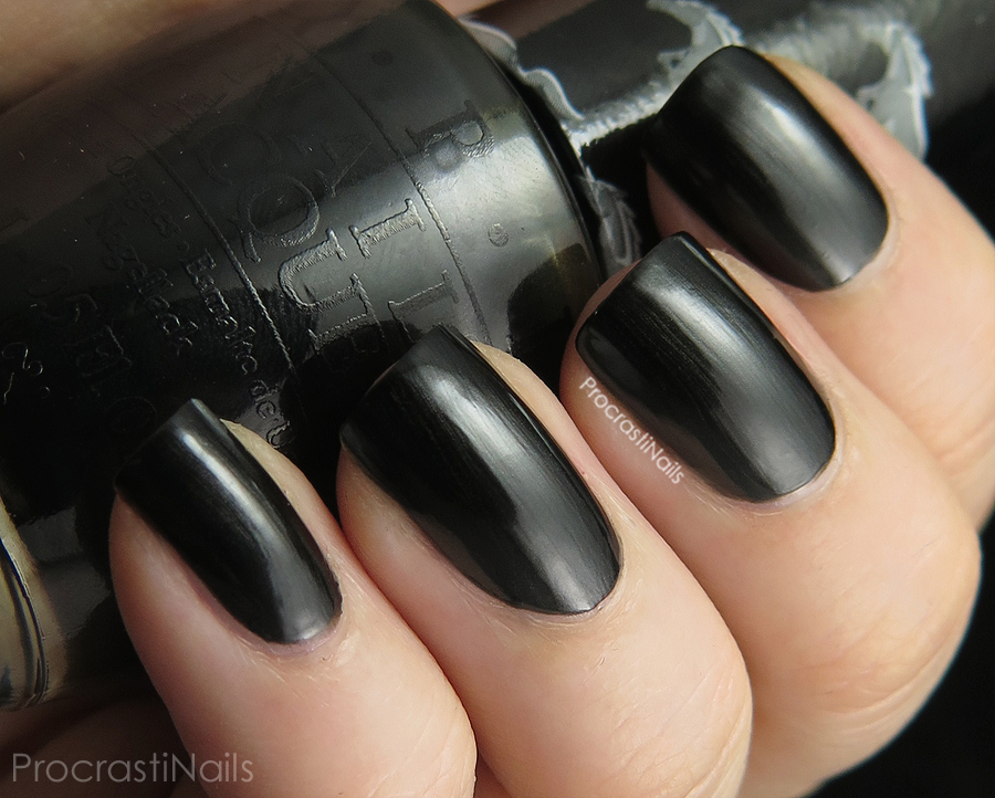 Swatch of OPI Queen of the Road from the Mustang Collection