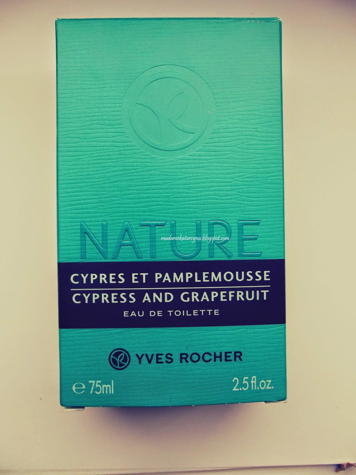 Yves Rocher-Woda toaletowa Cyprys & Grejpfrut