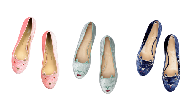 Charlotte Olympia cats