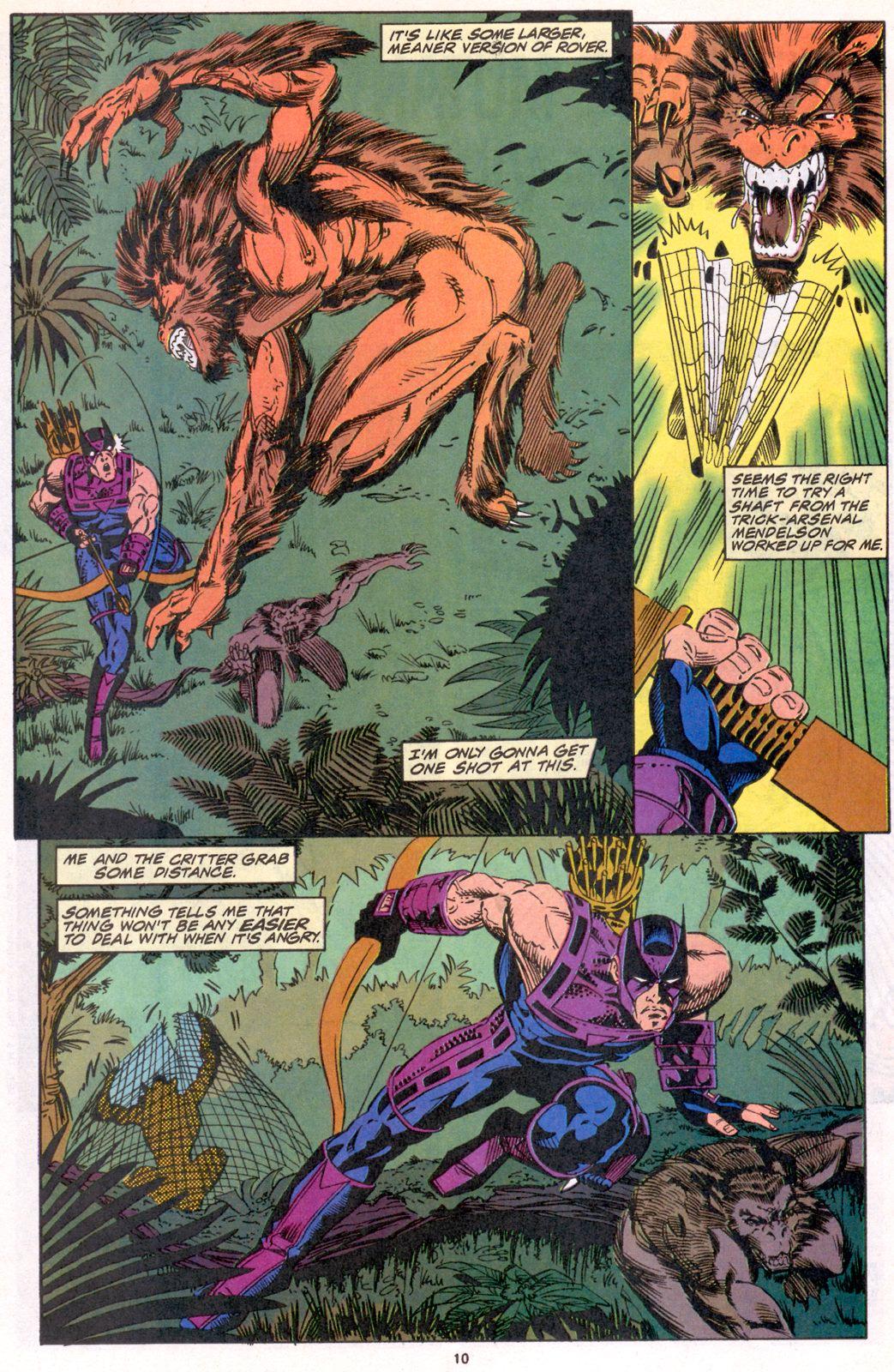 Hawkeye (1994) Issue #4 #4 - English 9