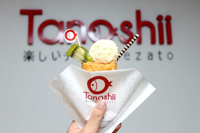 tanoshii dezato taiyaki