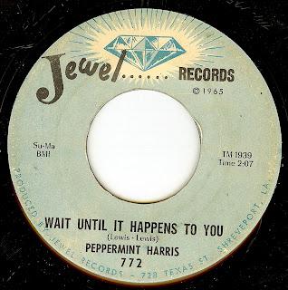 Peppermint Harris Wait Until It Happens To You