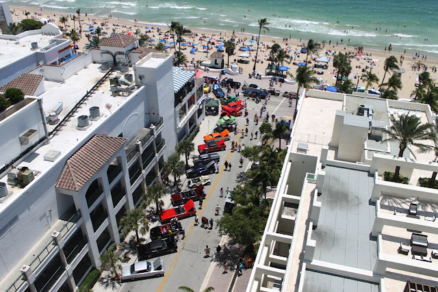 2013 Fort Lauderdale Great American Beach Party Muscle Car and Hot Rod Car Show