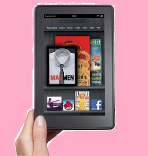 amazon's kindle fire tablet pc
