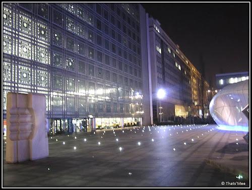 Esplanade Institut du Monde Arabe Paris Jussieu