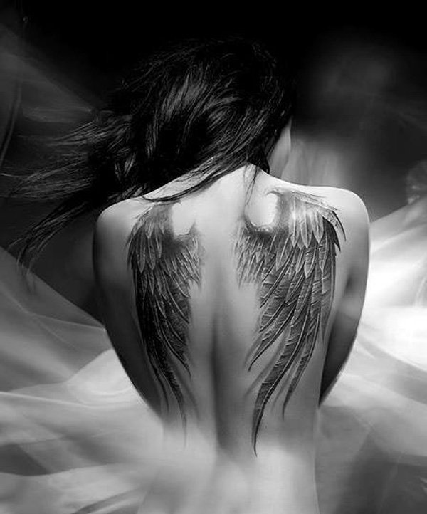 35 lindas tatuagens de Asas
