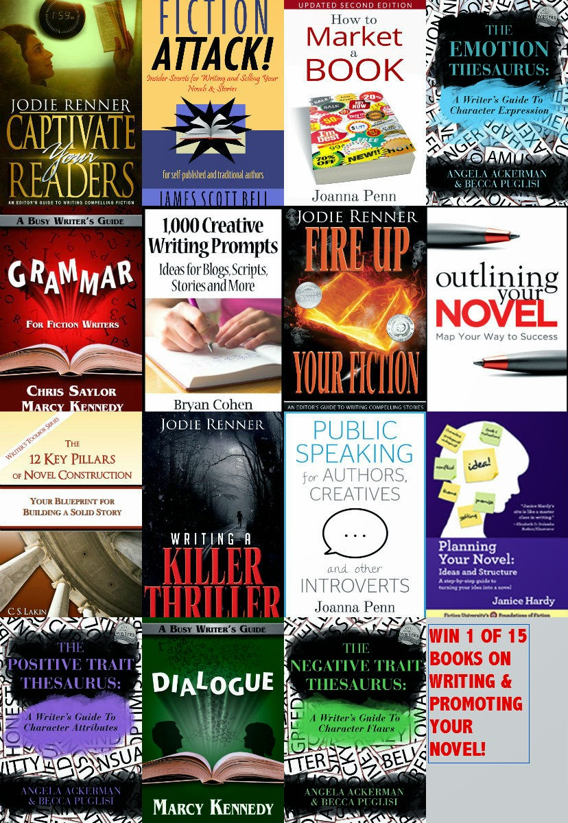 GIVEAWAY OF 15 GREAT GUIDES TO WRITING & MARKETING YOUR BOOK