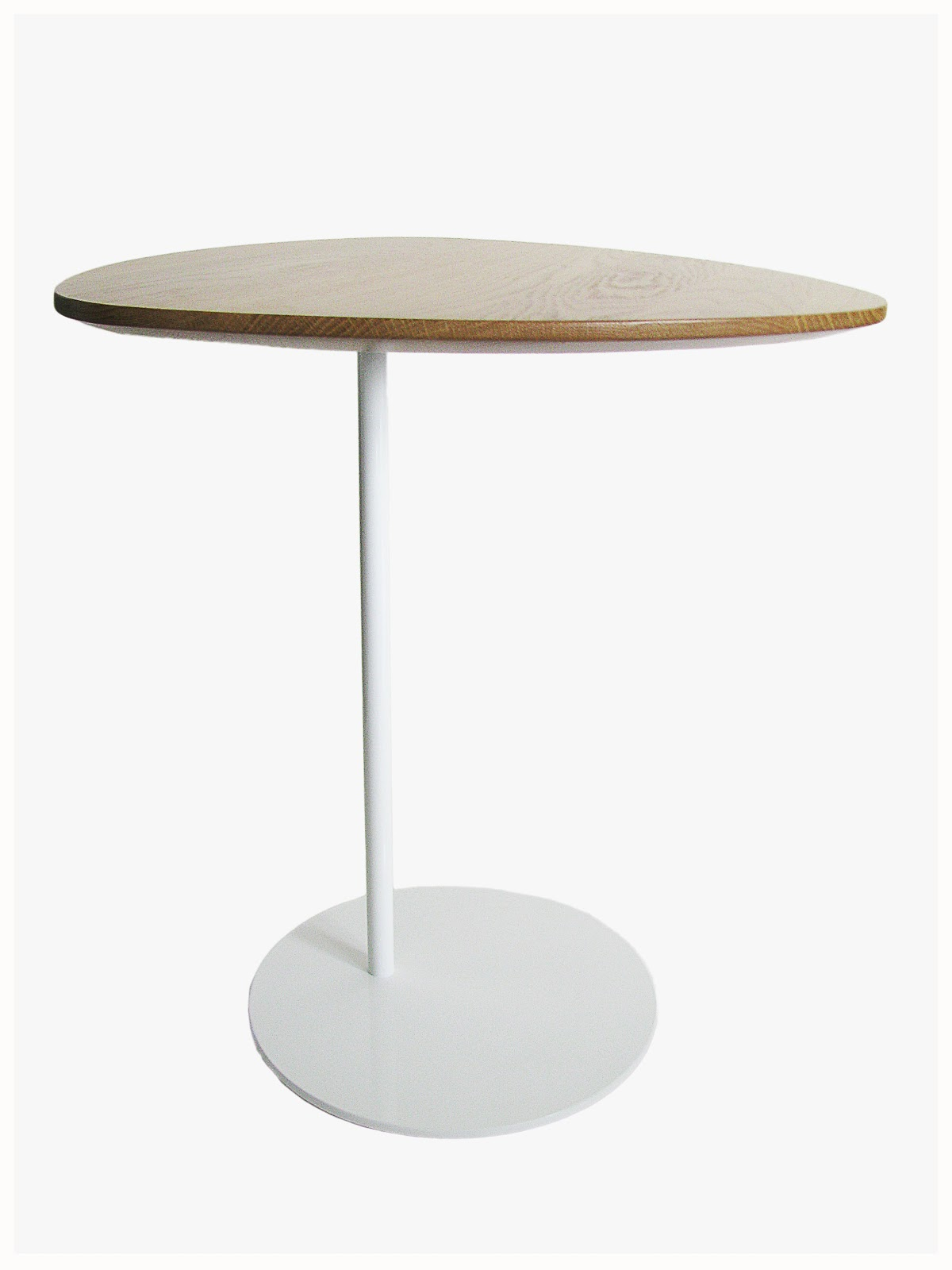 Anaca studio zoe side table pretty in white for Tall white end table