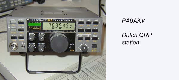 PA0AKV QRP radio amateur
