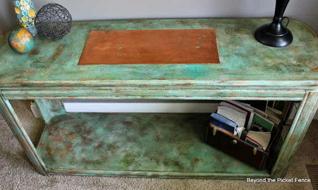 ode to the sofa table http://bec4-beyondthepicketfence.blogspot.com/2014/05/ode-to-sofa-table.html