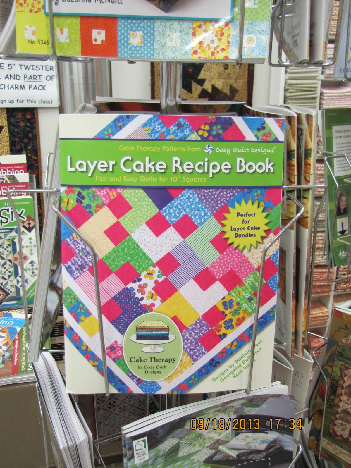 Layer Cake Quilt Books : P-Dub s Quilt Stuff : batik layer cakes, new books and ...