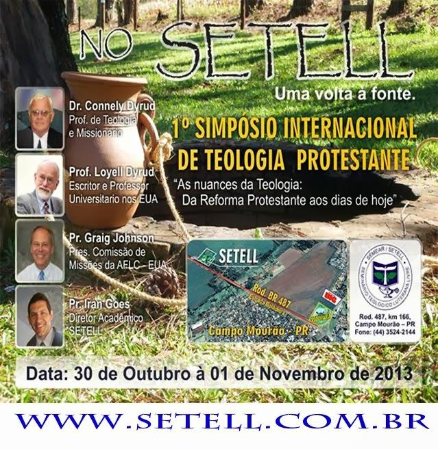1º.SIMPÓSIO INTERNACIONAL DE TEOLOGIA PROTESTANTE