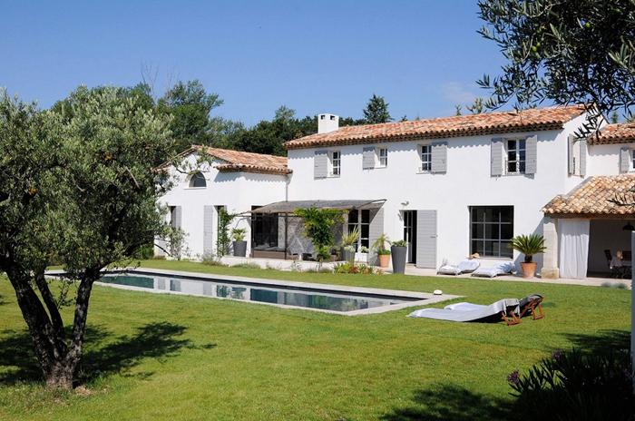 Estilo rustico villa rustica en provenza for Villas rusticas