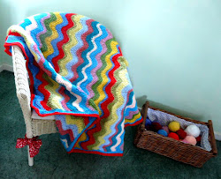 Cheerful Ripple Blanket