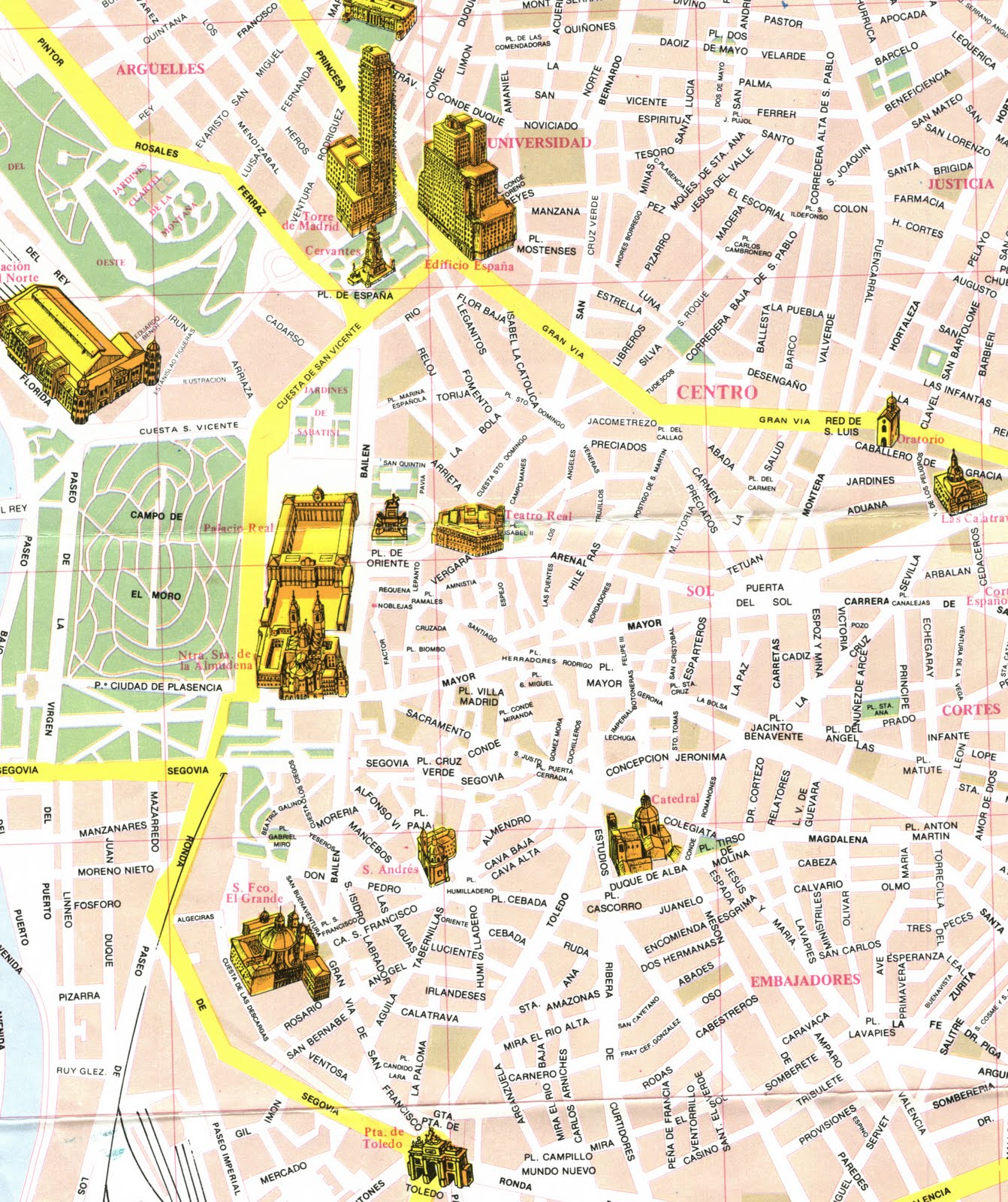 GIS Research and Map Collection: Madrid, Spain Maps Available from ...