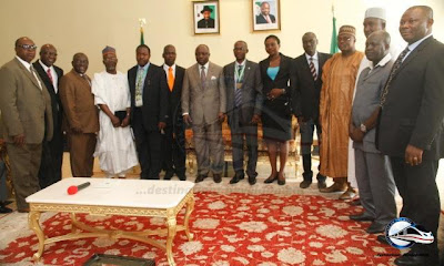 NMAN2 Delegation of Nigeria Medical Association visits Gov. Uduaghan