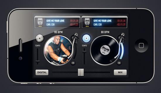 Carl Cox DJ mixer iPhone app