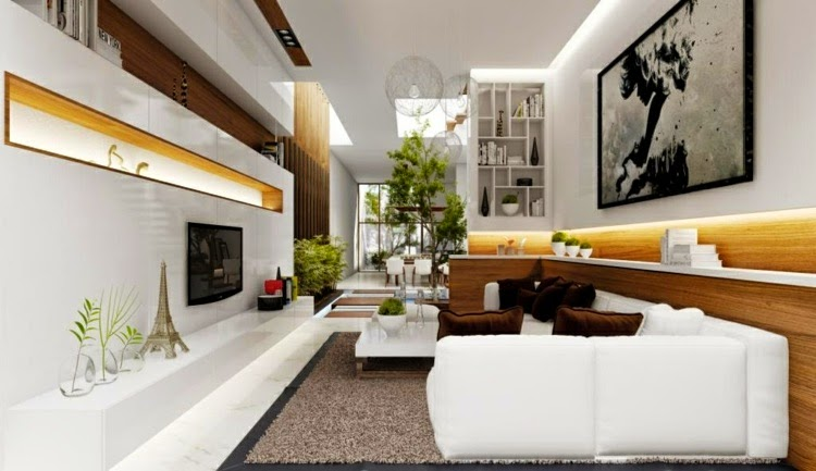 Modern living room LED ceiling lighting Latest modern lights for false ceilings and walls