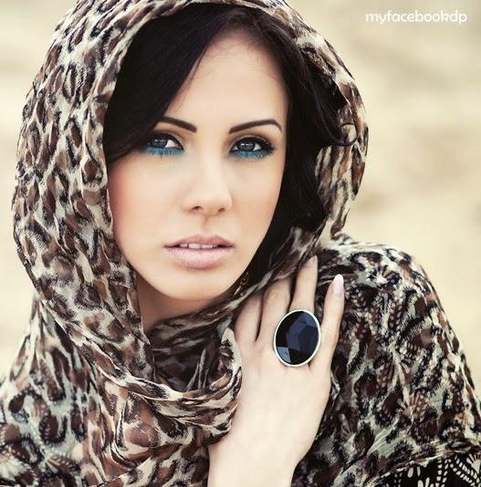 simple desert girl dp