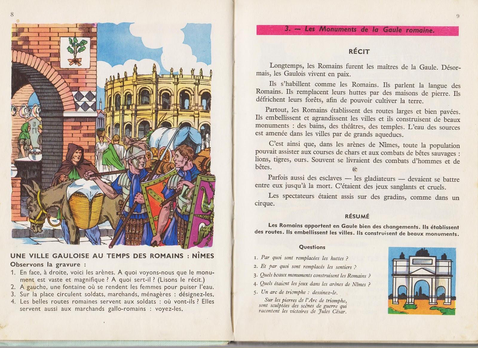 5 avantages des illustrations dans les vieux manuels d'histoire Pages+008-009+