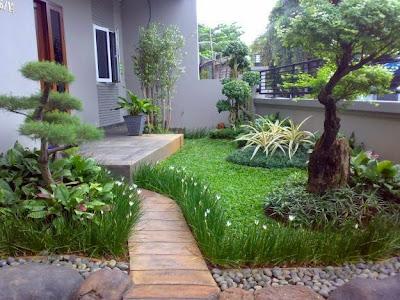 Aneka Taman Rumah Minimalis