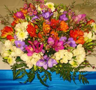 Centros con flores