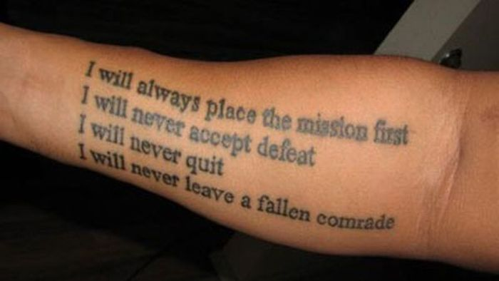 What Is The Best Military Branch >> US Military Tattoos ~ Damn Cool Pictures