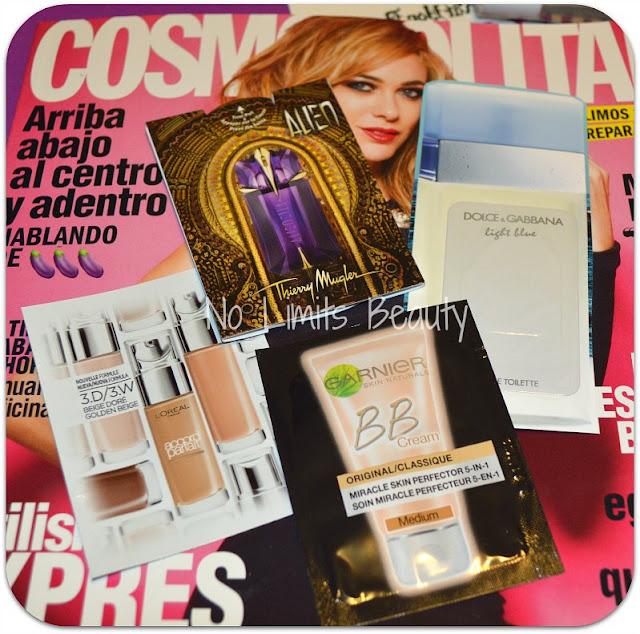 Regalos revistas Octubre 2015: Cosmopolitan