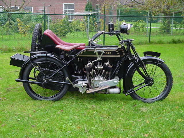 Antique Motorcycles Ajs D Combination 1920