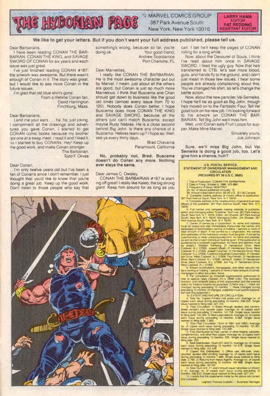 Conan the Barbarian (1970) Issue #193 #205 - English 24