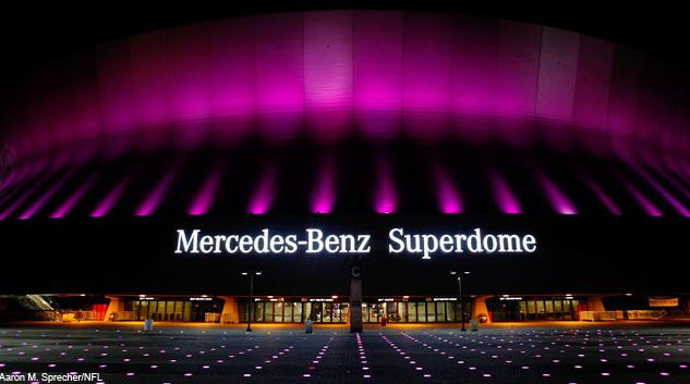 Golden choice by lux creative international tickets info for Mercedes benz superdome parking pass