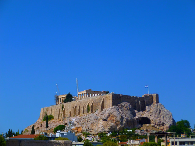 stunning view of acropolis