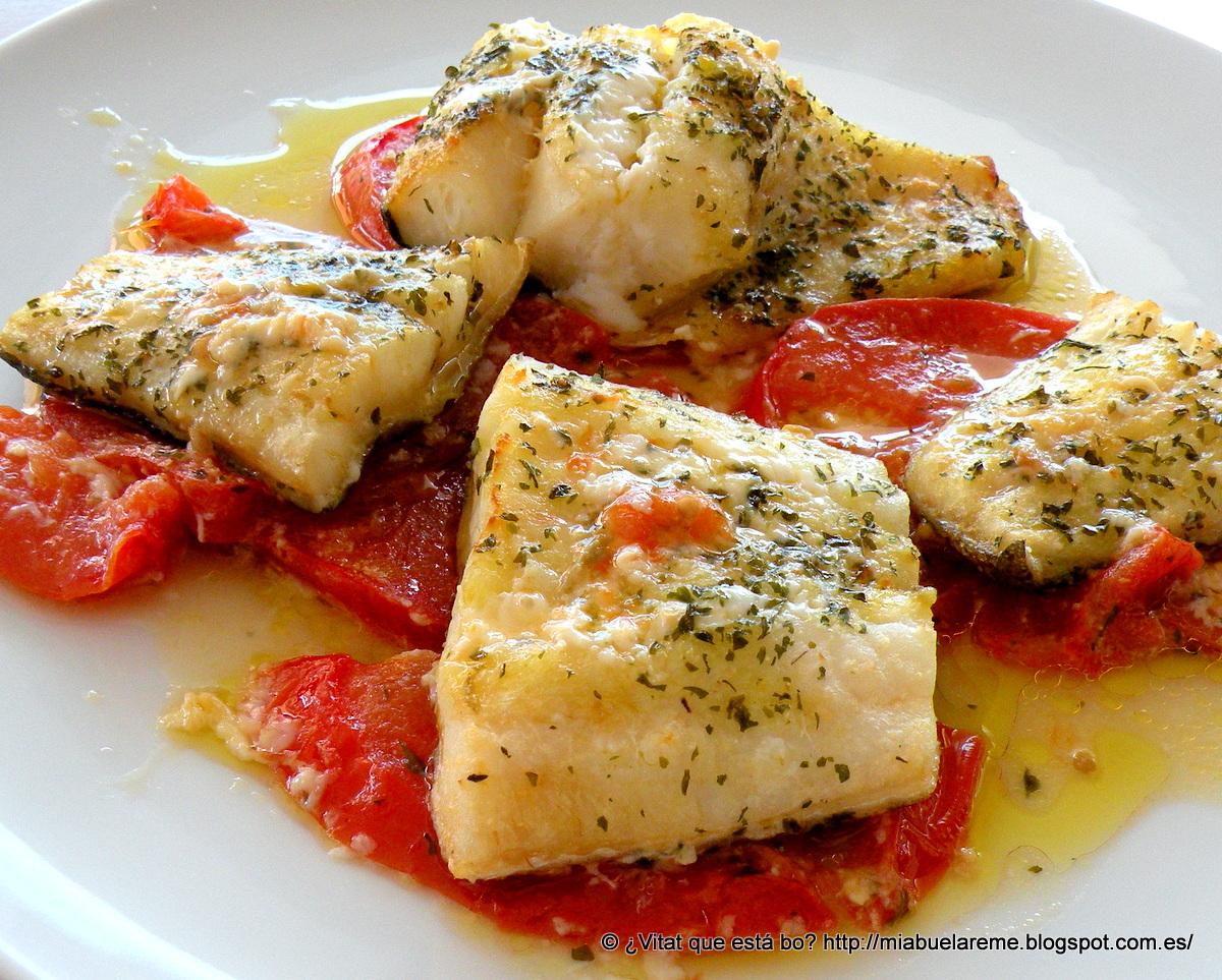 Bacalao con tomate distinto en la comunidad de cocina - Cocinar bacalao desalado ...