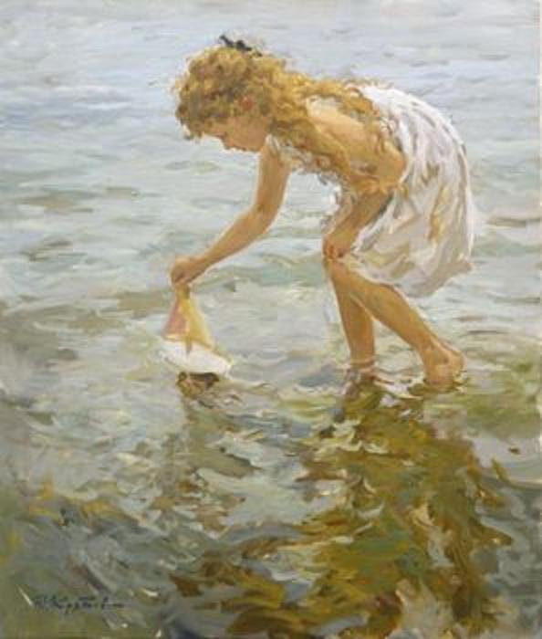 Yuri Krotov Paintings For Sale