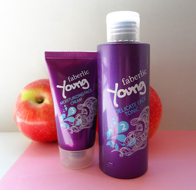 Faberlic Young Delicate Face Tonic, Faberlic Young Moisturazing Face Cream