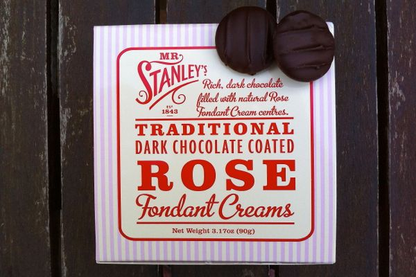 Review: Mr Stanley's Rose Creams (vegan)