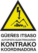 GÜEÑES ITSASO autopista elektrikoaren KONTRAKO KOORDINADORA