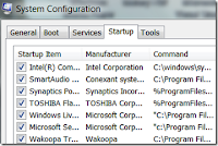 Change Startup Programs in Windows 7