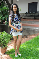 Shanvi Looks Beautiful in Mini Skirt at Ada Movie Opening