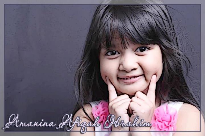 Foto Imut Afika - Amaniah Afiqah Ibrahim