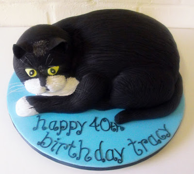 black cat birthday cakes