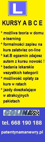 OSK COLINA PATENTYNAMANEWRY